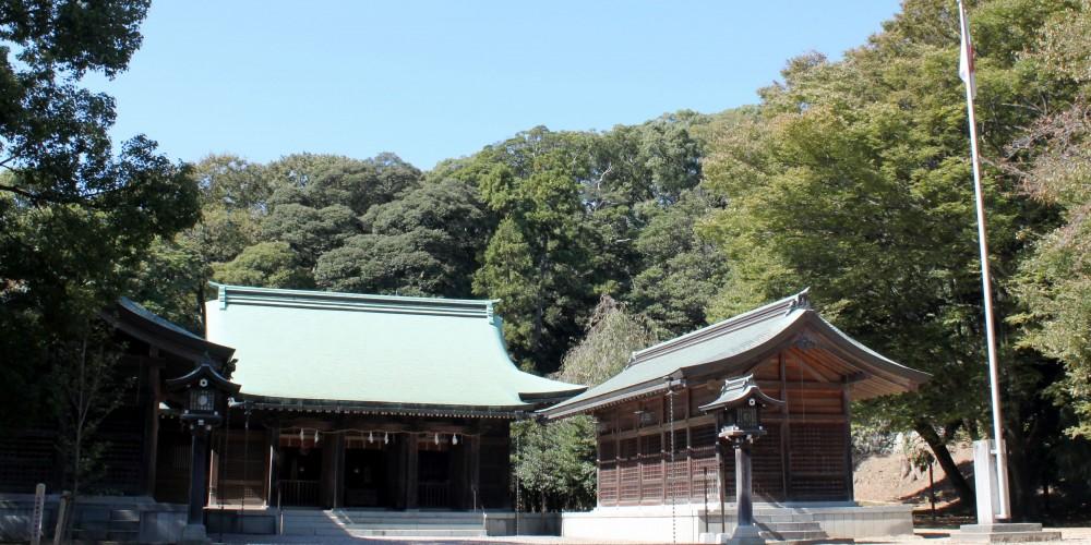 濱田護國神社本殿